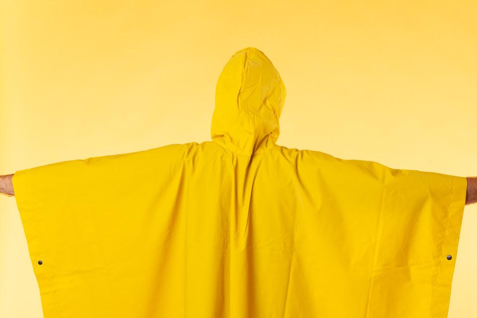 11—Hooded Poncho