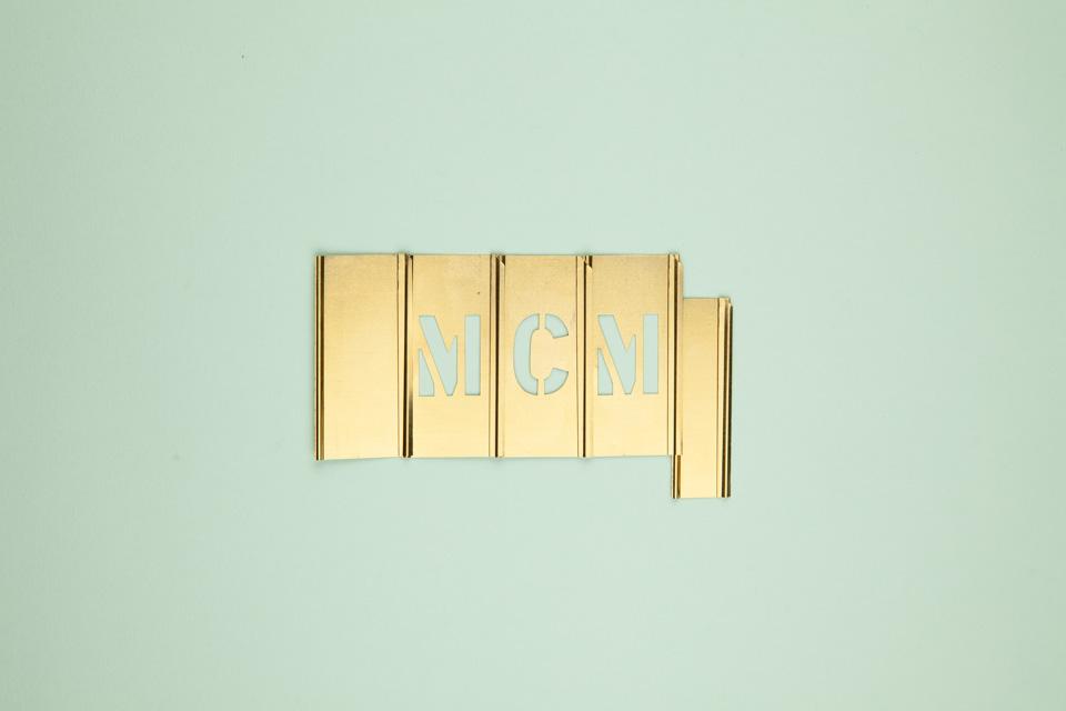 49—Brass Stencil Set