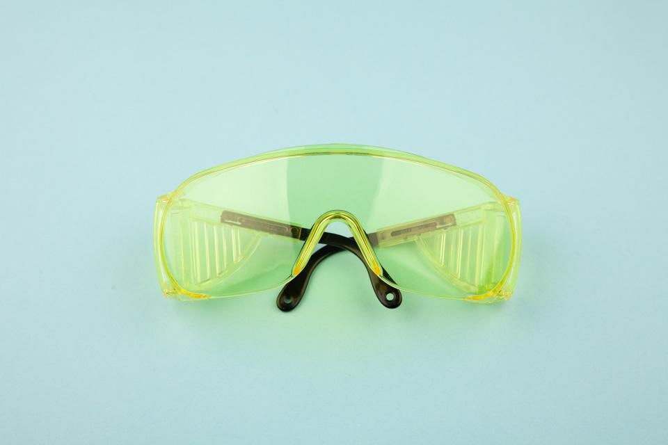 53—Amber Saftey Glasses